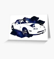 Eunos Roadster (Mazda MX5,Miata) Greeting Card