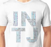 INTJ Word Cloud Unisex T-Shirt