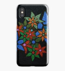 Retro Trendy Floral Pattern iPhone Case
