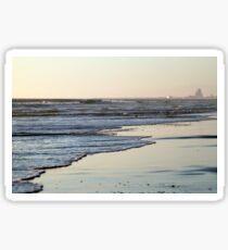 Beach Sunset Ormond Beach Sticker
