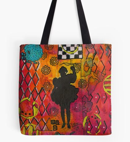 A Princess Who LOVES to Dance Tote Bag