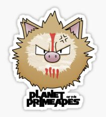 Planet of the Primeapes Sticker