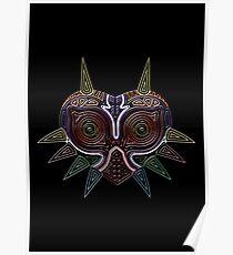 Ornate Majora's Mask Poster