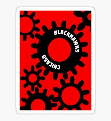Gears Sticker