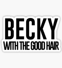 BECKY Sticker