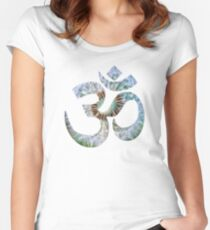 OM_GAIA_7 Women's Fitted Scoop T-Shirt