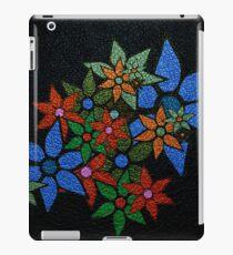 Retro Trendy Floral Pattern iPad Case/Skin