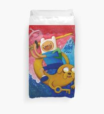 Adventure Time Finn & Jake Duvet Cover