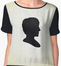 Ada Lovelace Silhouette  Chiffon Top