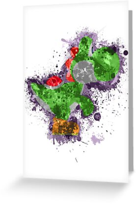 Yoshi Splatter by Colossal
