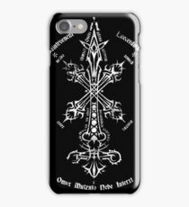 Blood Sin - Silver Edition iPhone Case/Skin