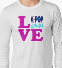 ♥♫Love SNSD-Girls' Generation Fabulous K-Pop Clothes & Phone/iPad/Laptop/MackBook Cases/Skins & Bags & Home Decor & Stationary & Mugs♪♥ Long Sleeve T-Shirt