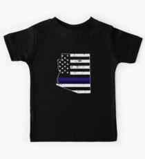 Arizona Thin Blue Line Police Kids Clothes