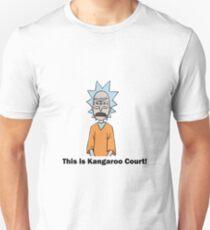 Rick and Morty-- Kangaroo Court Color T-Shirt