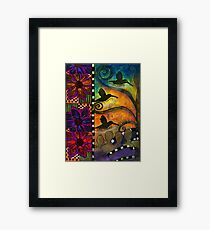 Softly Humming  Framed Print