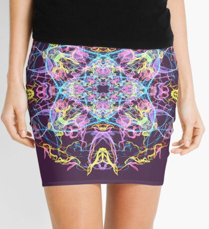 Floral Lights Mini Skirt