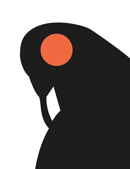Songbird, Guardian of Columbia by THISISDINOSAUR