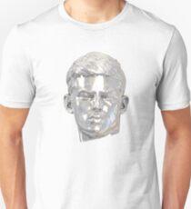 Sebastian (relic) silver on white T-Shirt