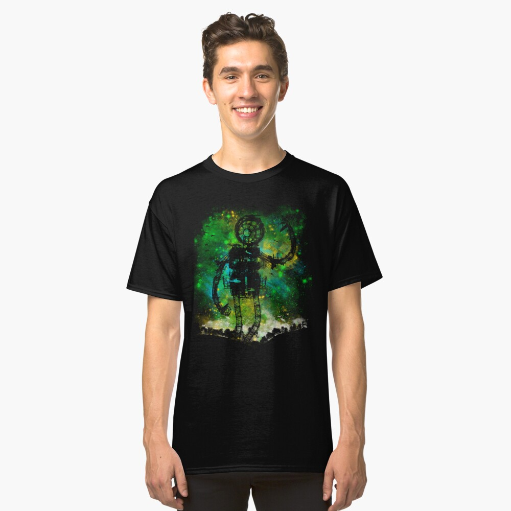 mad robot Classic T-Shirt Front