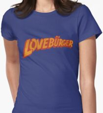 Loveburger  Women's Fitted T-Shirt