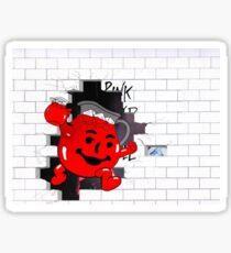 Kool Aid Man x Pink Floyd Sticker