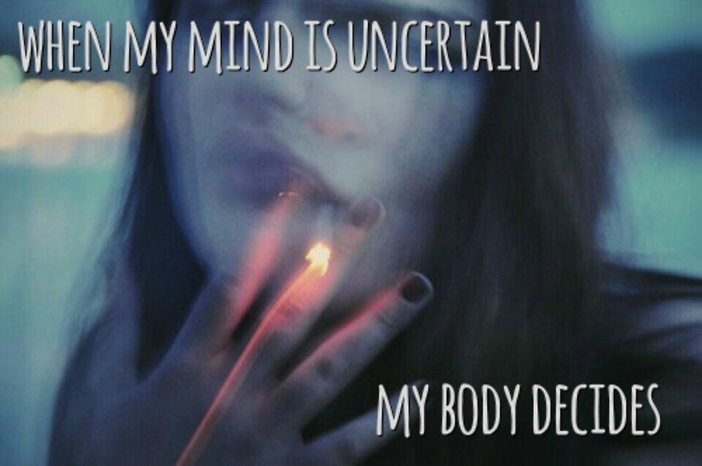 My Mind is Uncertain; My Body Decides - The Plan (F**k Jobs) - The ...