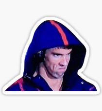 Phelps Face Sticker
