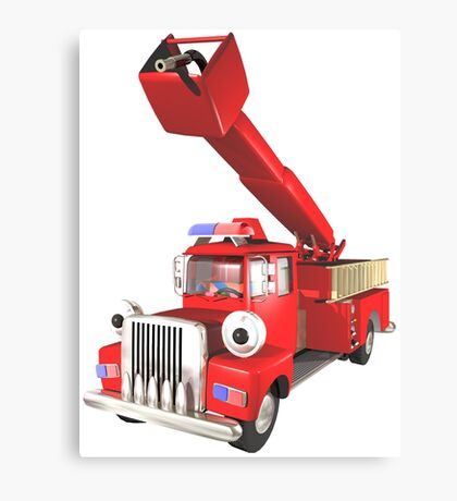 Toy Fire Engine Canvas Print