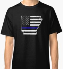 Arkansas Thin Blue Line Police Classic T-Shirt