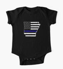 Arkansas Thin Blue Line Police Kids Clothes