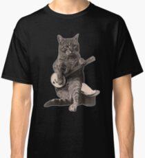 Banjo Cat Classic T-Shirt