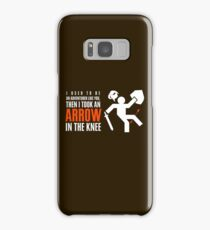Arrow in the Knee Samsung Galaxy Case/Skin