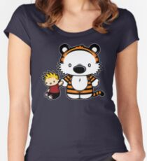 Hello Tiger Women's Fitted Scoop T-Shirt