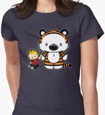 Hello Tiger Women's Fitted T-Shirt