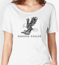 Running Eagles Women's Relaxed Fit T-Shirt