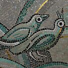 mosaic in Norway by Margaret  Shark