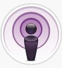 Podcast Sticker