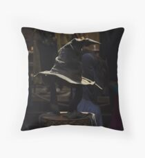 The Sorting Hat Throw Pillow