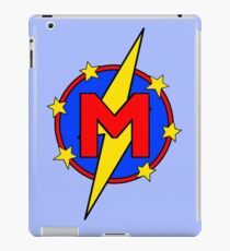 My Cute Little Super Hero - Letter M iPad Case/Skin