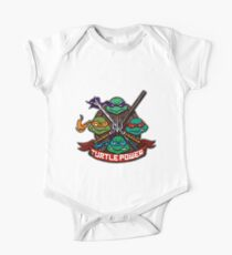 Turtle Power! One Piece - Short Sleeve
