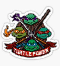Turtle Power! Sticker