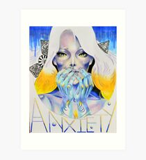 Goddess of Anxiety Art Print