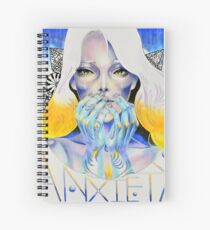 Goddess of Anxiety Spiral Notebook