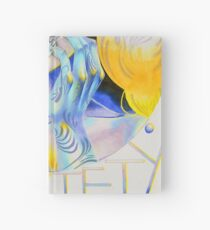 Goddess of Anxiety Hardcover Journal