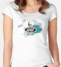 surf 7 Women's Fitted Scoop T-Shirt
