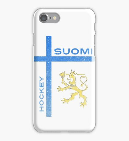 Finland Hockey iPhone Case/Skin