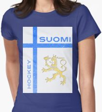Finland Hockey Womens Fitted T-Shirt