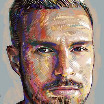 Aaron Ramsey by ArsenalArtz