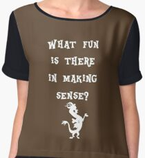 Discord - What fun is there in making sense? Women's Chiffon Top
