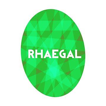 Game Of Thrones Dragon Eggs - Rhaegal by Bunniedew